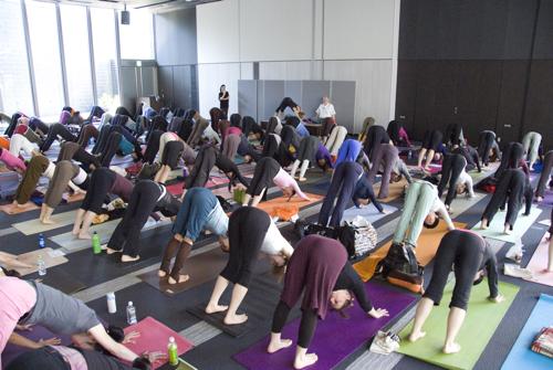 ISHTA YOGA TEACHER マック久美子からのメッセージ-Alan's workshop