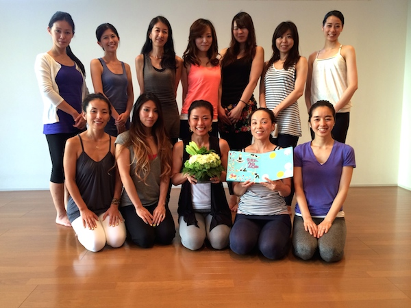 Be Yoga Japan's 28th 200-Hour Teacher Training (TT) Completed!