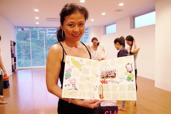 ビーヨガジャパン200時間インストラクター養成コース 代表のマック久美子