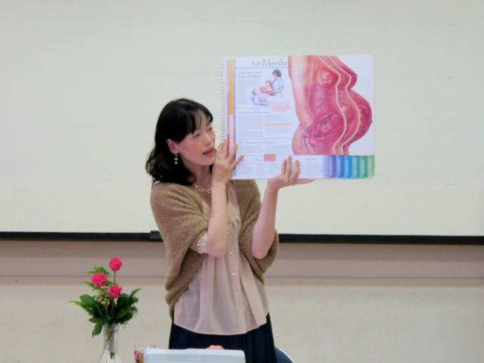 2011-sayaka-nagano-birth-coordinator-lecturer