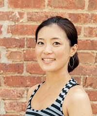 Aiko Imai, a certified instructor at Be Yoga Japan, Hiroo, Tokyo