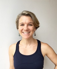 Anna, a certified instructor at Be Yoga Japan, Hiroo, Tokyo