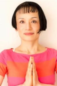 Minako Suzuki, a yoga instructor and English to Japanese interpreter