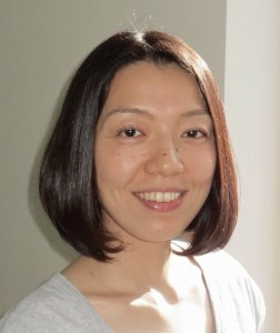 Tomoko Kawahara, a senior yoga instructor & a English to Japanese interpreter