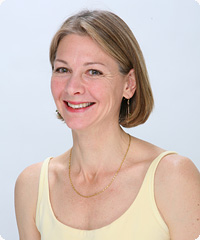 Meg Mccreery, a certified instructor at Be Yoga Japan, Hiroo, Tokyo