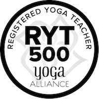 Yoga alliance registered yoga teacher 500 hour course logo