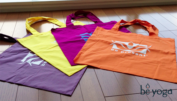 yoga eco bag by Be Present