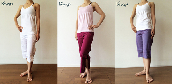 Yoga wear top & leggings by Be Present & Hard Tail 1