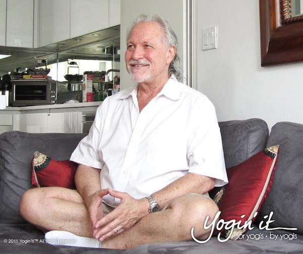 2012 Alan Finger, a yoga senior instructor & founder of Ishta yoga