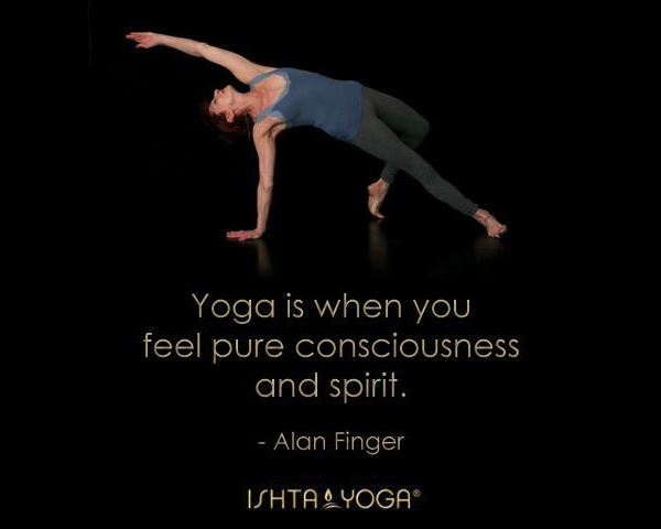 2013 Ishta yoga quote by Alan Finger 4